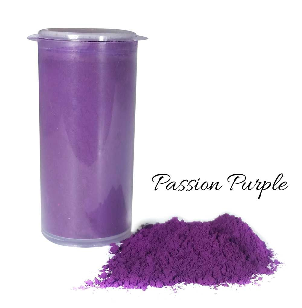 Crystal Candy So Intense Food Colour Powders - Passion Purple
