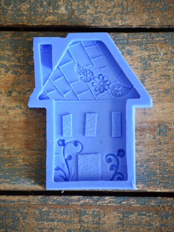 Crystal Candy Home Sweet Home Mould Collection - Holiday home