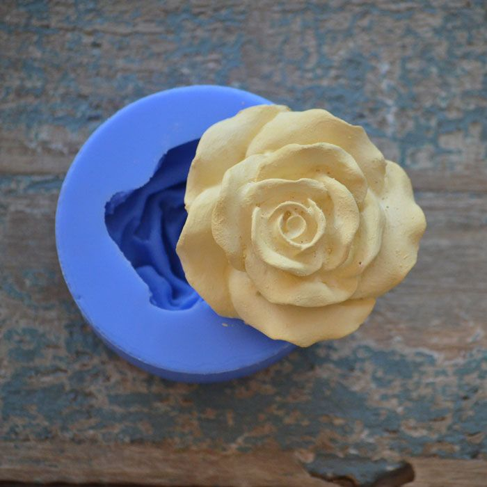 Crystal Candy Bas Relief Moulds - ROSETTE