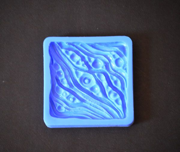 Crystal Candy Bas Relief Cupcake/Cookie Earthen Collection - Oceana