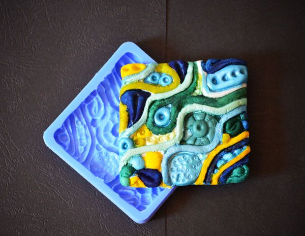 Crystal Candy Bas Relief Cupcake/Cookie Earthen Collection - Nile Delta