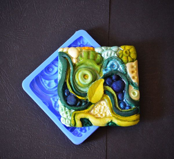 Crystal Candy Bas Relief Cupcake/Cookie Earthen Collection - Geagraphic