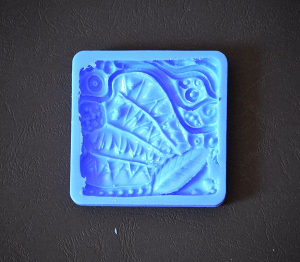 Crystal Candy Bas Relief Cupcake/Cookie Earthen Collection - Rain Forest