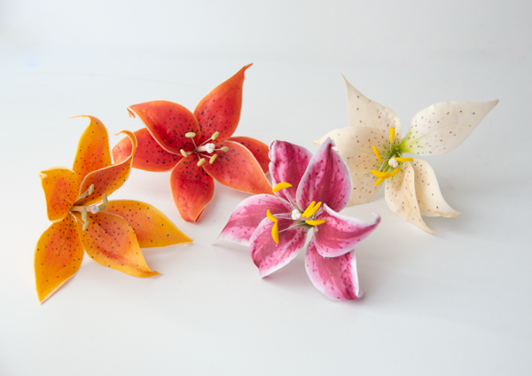 Crystal Candy: Make-a-Tiger Lilly Flower