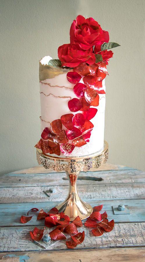 Crystal Candy Edible Rose Petals