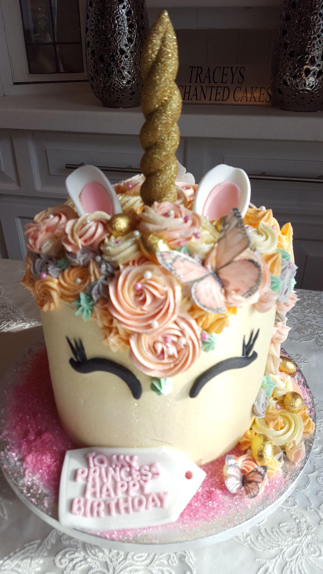 Unicorn Mermaid Cakes