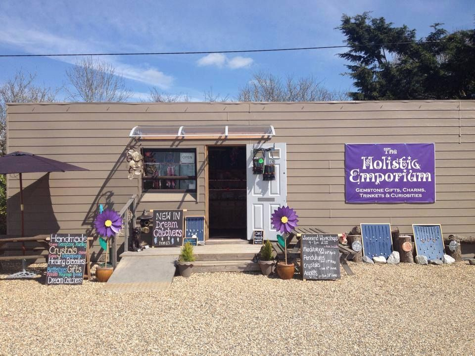 outside view of our shop at Hollier's Farm
