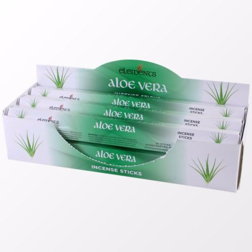 Aloe Vera incense sticks by elements