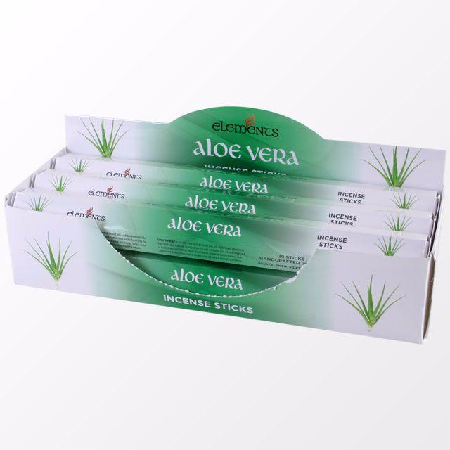 Aloe Vera incense sticks by elements