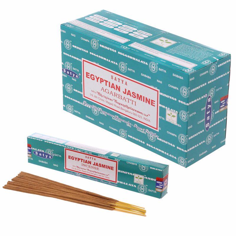 Egyptian Jasmine incense sticks by Satya