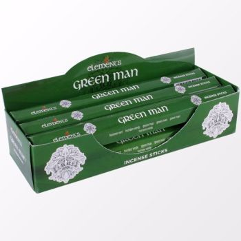 Elements Mystical - Green Man Incense Sticks