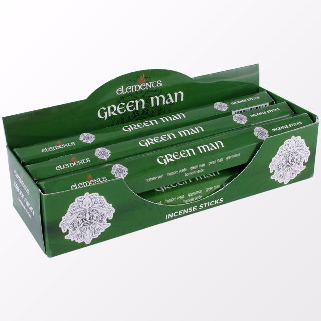 Green Man incense sticks by elements