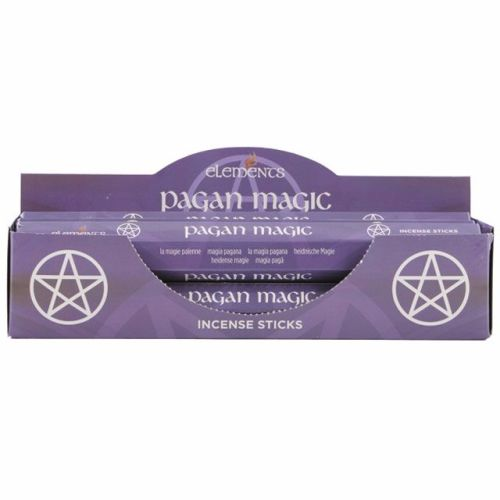 Pagan magic incense sticks by elements
