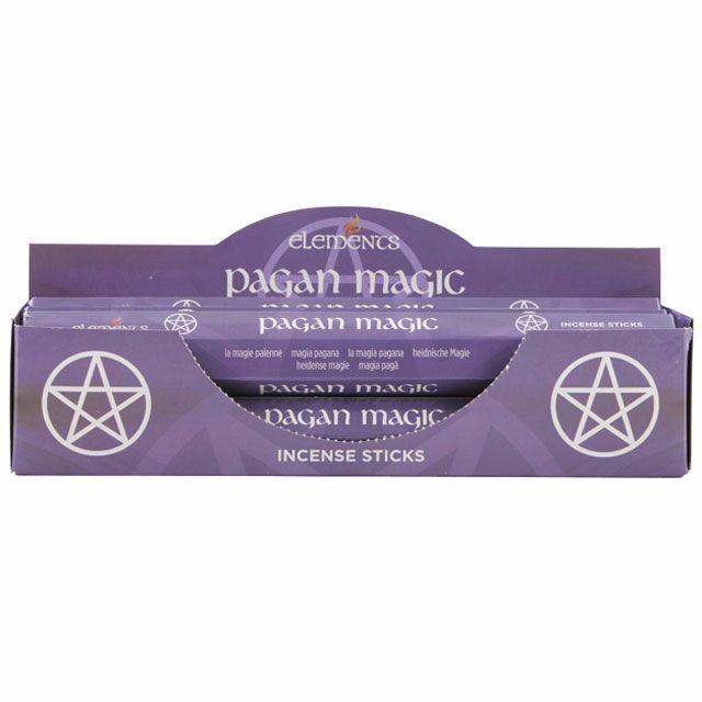 Pagan magic incense sticks by elements