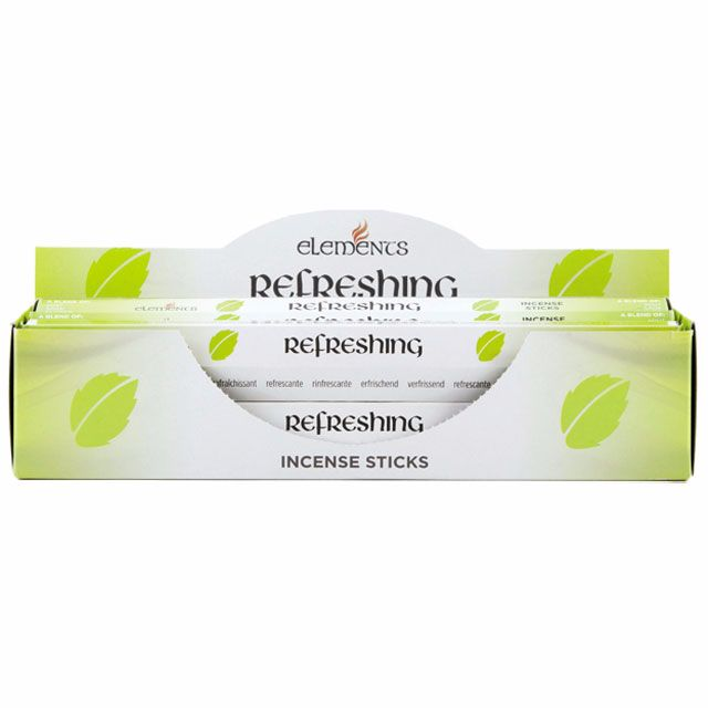 Refreshing aromatherapy incense sticks by elements