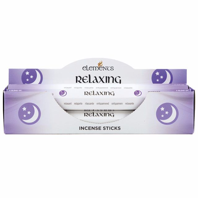Relaxing aromatherapy incense sticks by elements