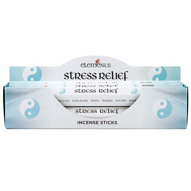 Stress relief aromatherapy incense sticks by elements