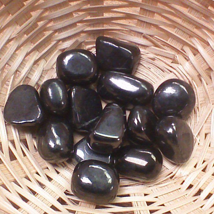 Tumblestone - Shungite,