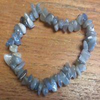 Gemstone Chip Bracelet - Labradorite