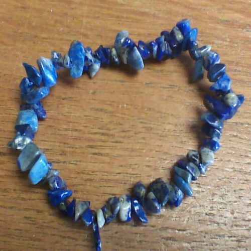 Gemstone Chip Bracelet - Lapis Lazuli