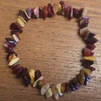 Gemstone Chip Bracelet - Mookaite