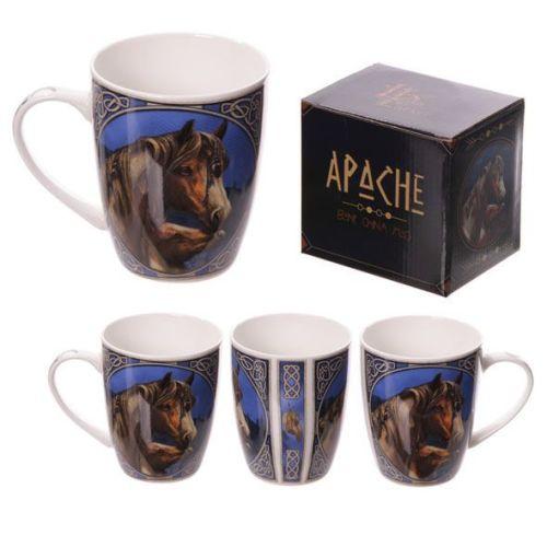Bone China Mug - Apache by Lisa Parker
