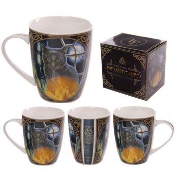 Bone China Mug - Bewitched by Lisa Parker
