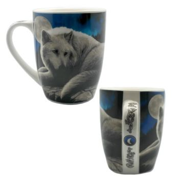 Bone China Mug - Guardian of the North by Lisa Parker