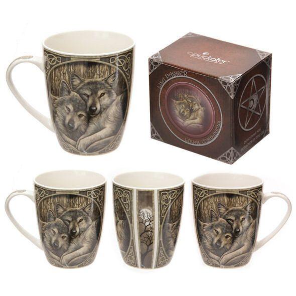 Bone China Mug - Loyal Companions by Lisa Parker
