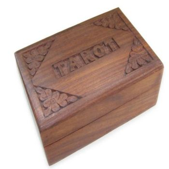Wooden Tarot Box