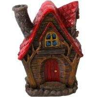 Fairy Home Incense Cone Burner - Red Roof