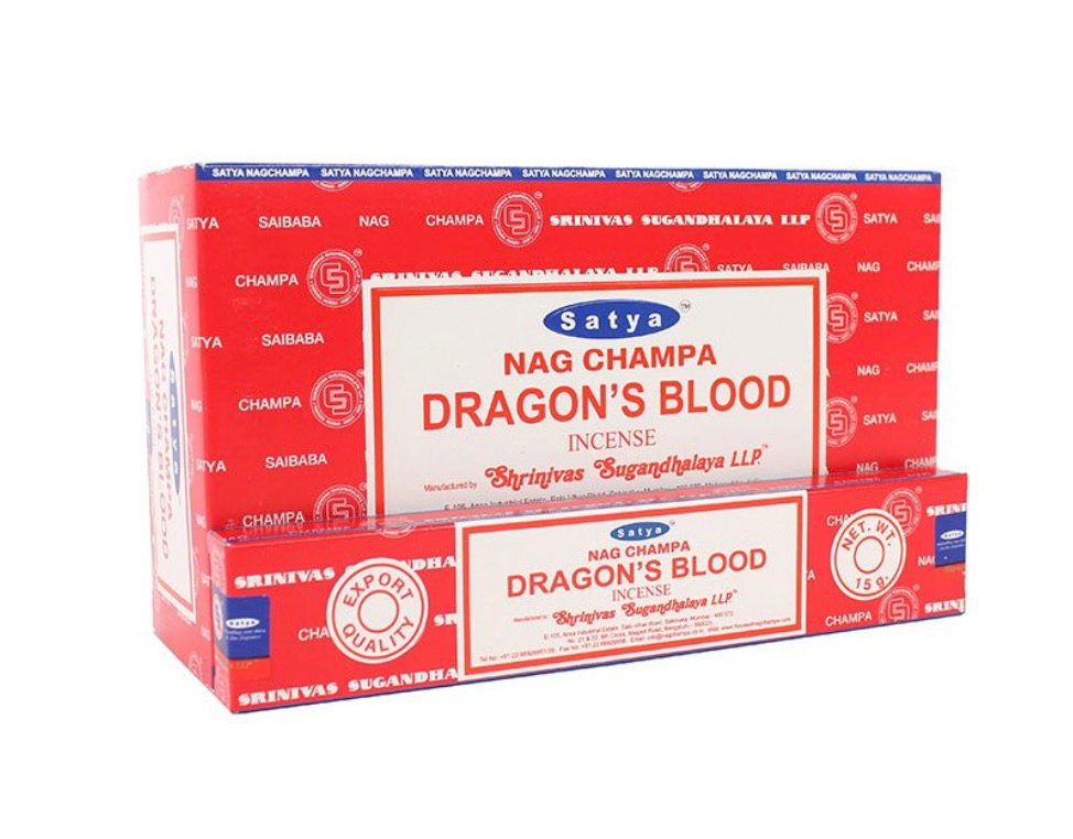 Satya - Dragons Blood Incense Sticks