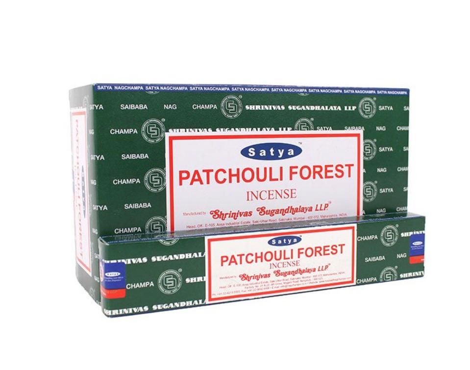 Satya - Patchouli Forest Incense Sticks