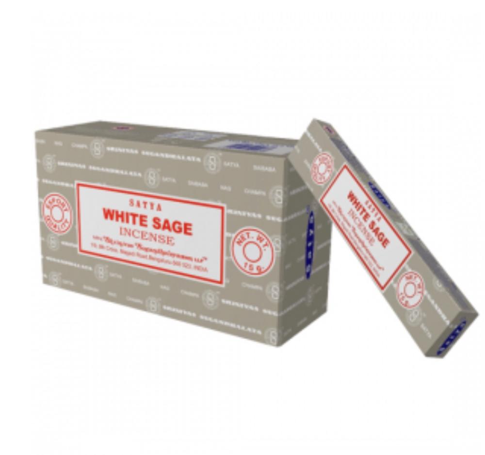 Satya - White Sage Incense Sticks