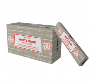 Satya - Sage, White Incense Sticks