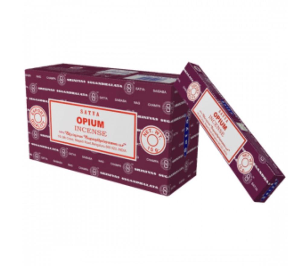Satya - Opium Incense Sticks