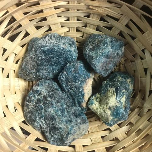 Raw Stone - Apatite