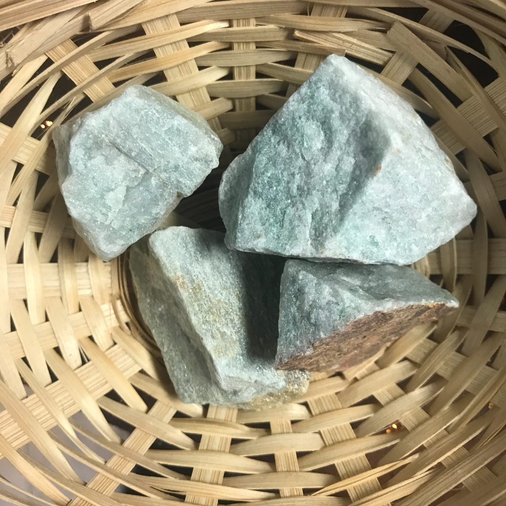 Raw Stone - Aventurine, Green