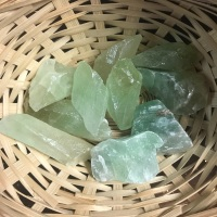 Raw Stone - Calcite, Green