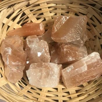 Raw Stone - Calcite, Red (Dark)