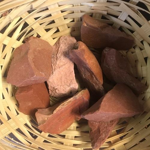 Raw Stone - Jasper, Red