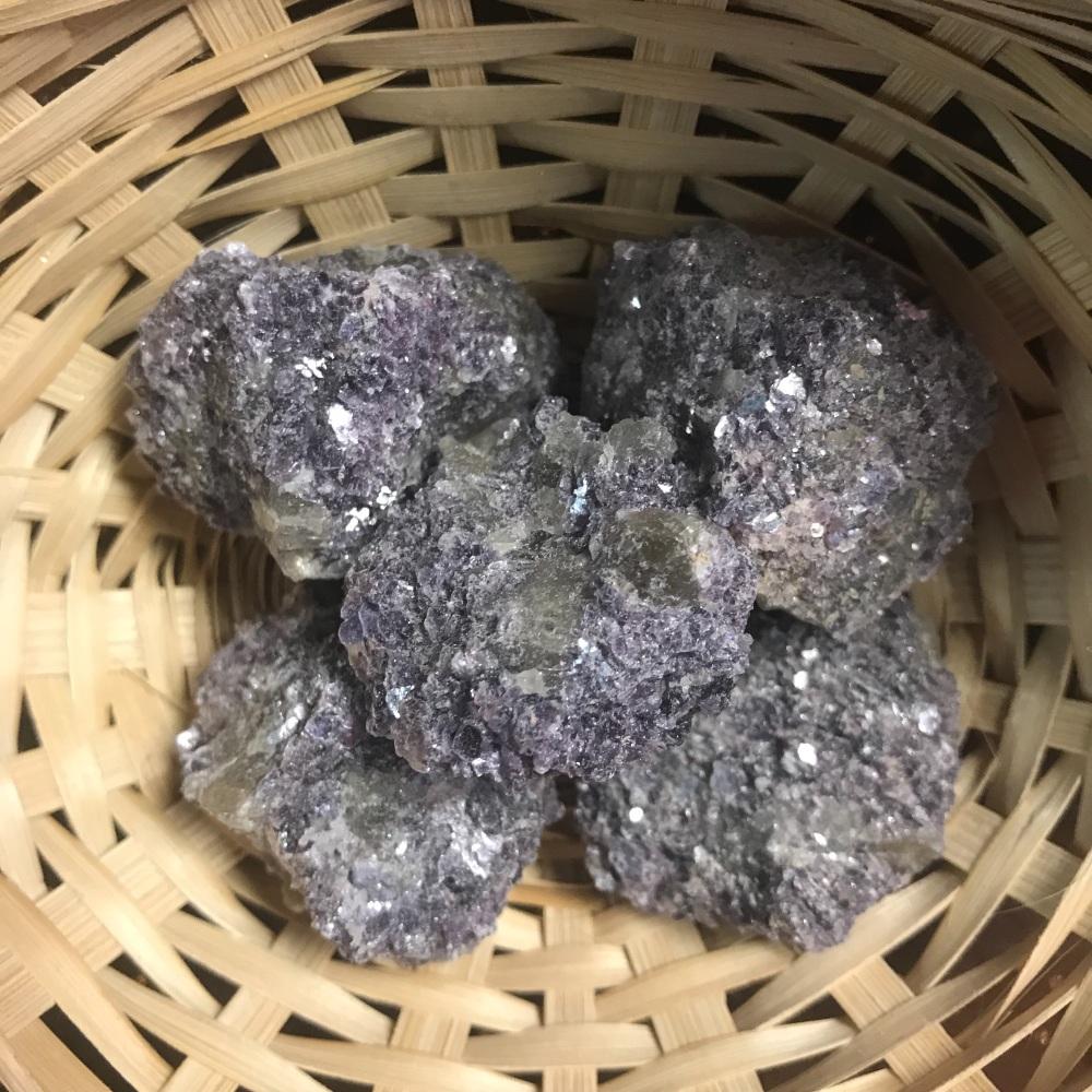 Raw Stone - Lepidolite, Mica, Purple