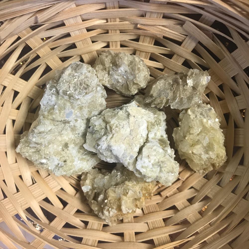 Raw Stone - Lepidolite, Mica, Yellow