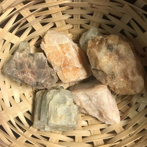 Raw Stone - Moonstone