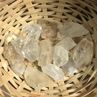 Raw Stone - Quartz, Clear