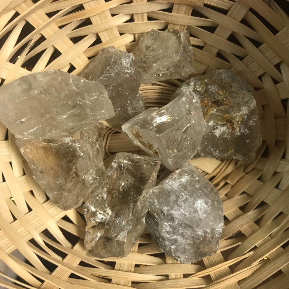 Raw Stone - Quartz, Smokey