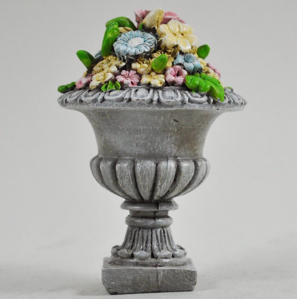 Fairy Garden Stone Flower Pot