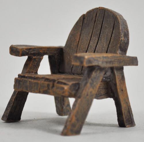 Fairy Garden Wood Effect Chair