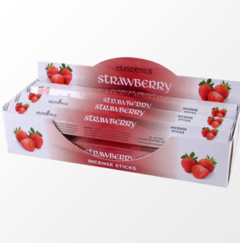 Elements - Strawberry Incense  Sticks