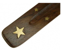 Incense Stick Holder - Natural Wood